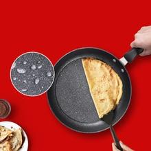 Non-stick pan non-stick frying pan frying pan Maifan stone composite thick wok non-stick pan maifan stone wok household shovel resistant non stick pan frying pan smoke free stove universal wok