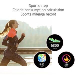 Image 4 - KW10 KW20スマート腕時計女性IP68防水腕時計心拍数モニターbluetoothスポーツフィットネスブレスレットアンドロイドios用