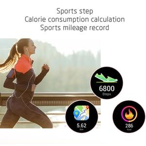Image 4 - KW10 KW20 Smart Watch Women IP68 Waterproof Wristwatch Heart Rate Monitoring Bluetooth Sport Fitness Bracelet For Android IOS