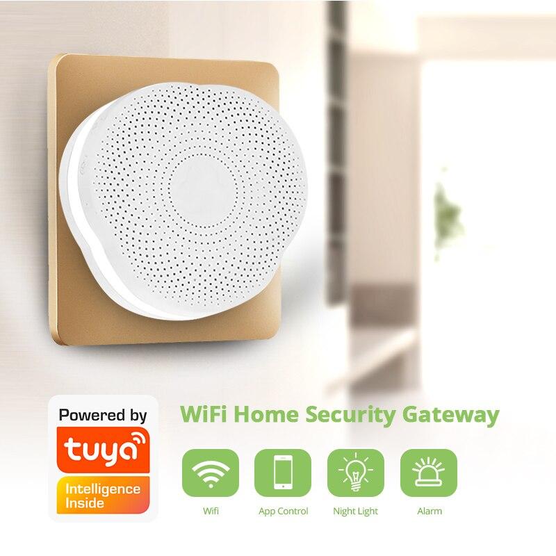 KERUI wielofunkcyjna brama aplikacji Tuya system alarmowy bezpieczeństwo w domu inteligentny Alarm, że System działa z asystent Google/Alexa sterowanie