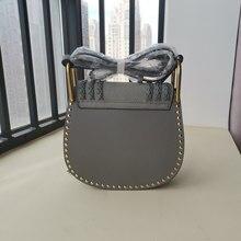 Women Brand Genuine Leather Tassel Shoulder Bag Fashion Luxury Rivet Small Purse Ladies Designer Crossbody Saddle Bag New 2021