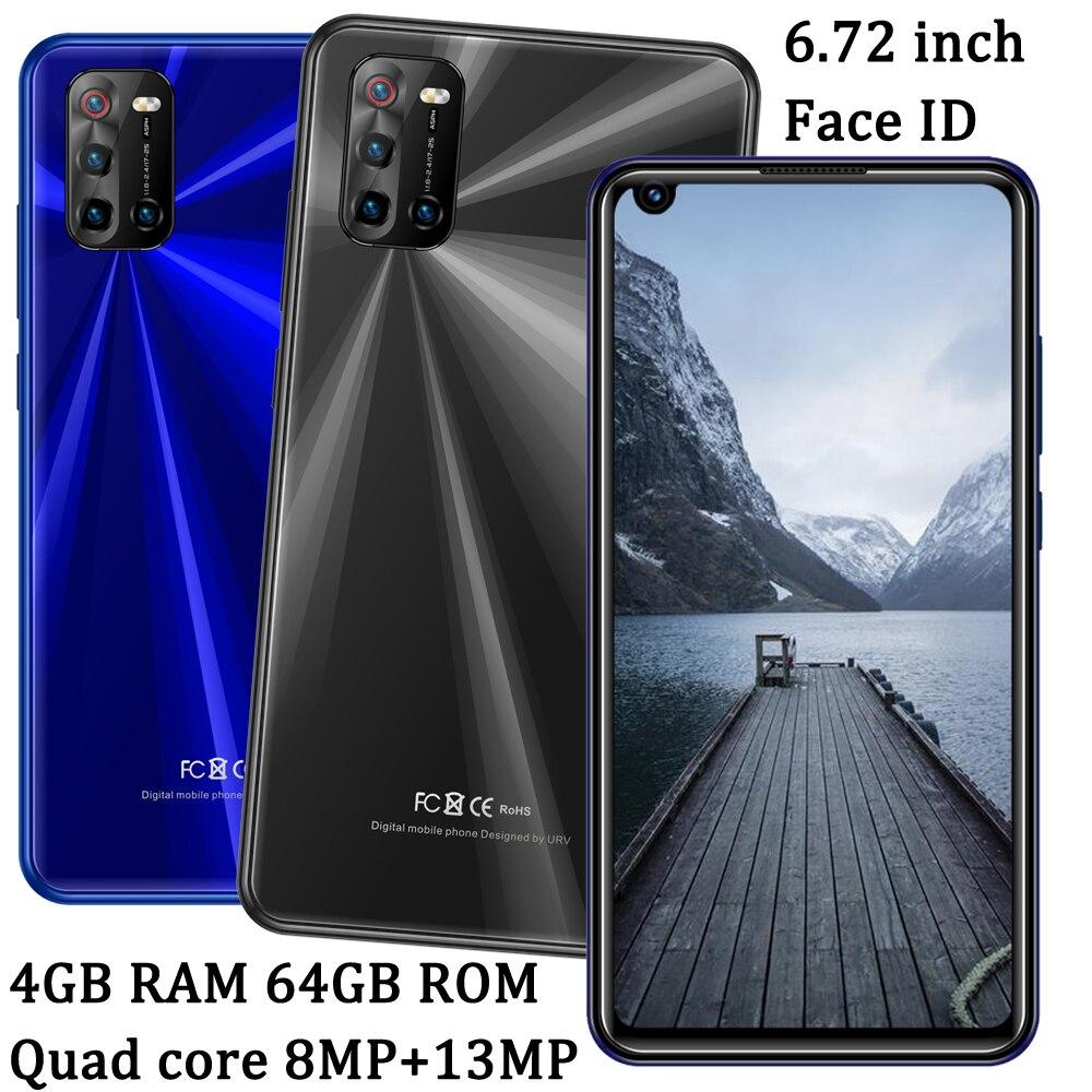Face ID 5i lite 4G Оперативная память + 64G Встроенная память передняя/задняя Камера глобальных смартфонов на базе Android 6,72