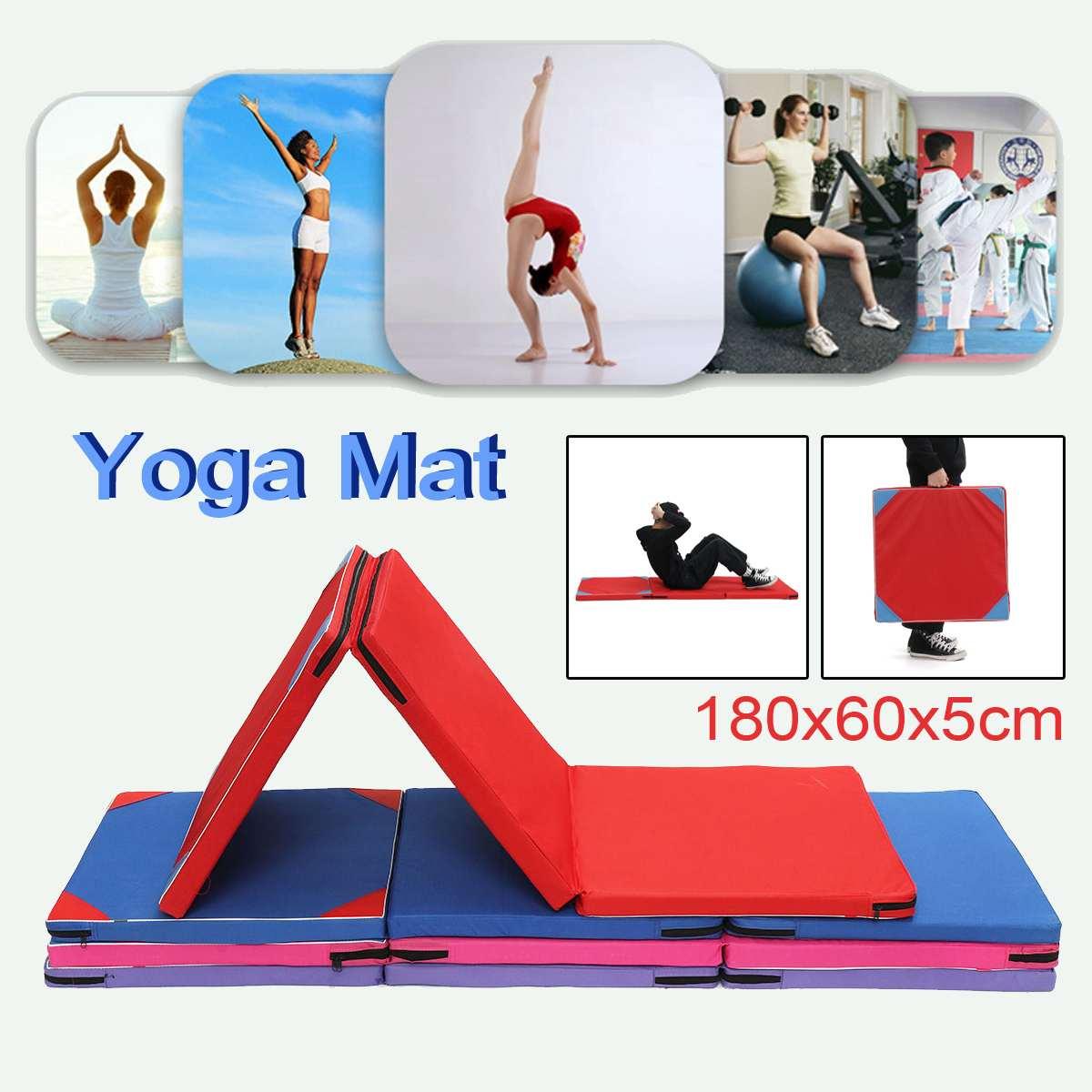 Best Deal 6cb6 Tapis De Yoga Antiderapant Pliant Gymnastique