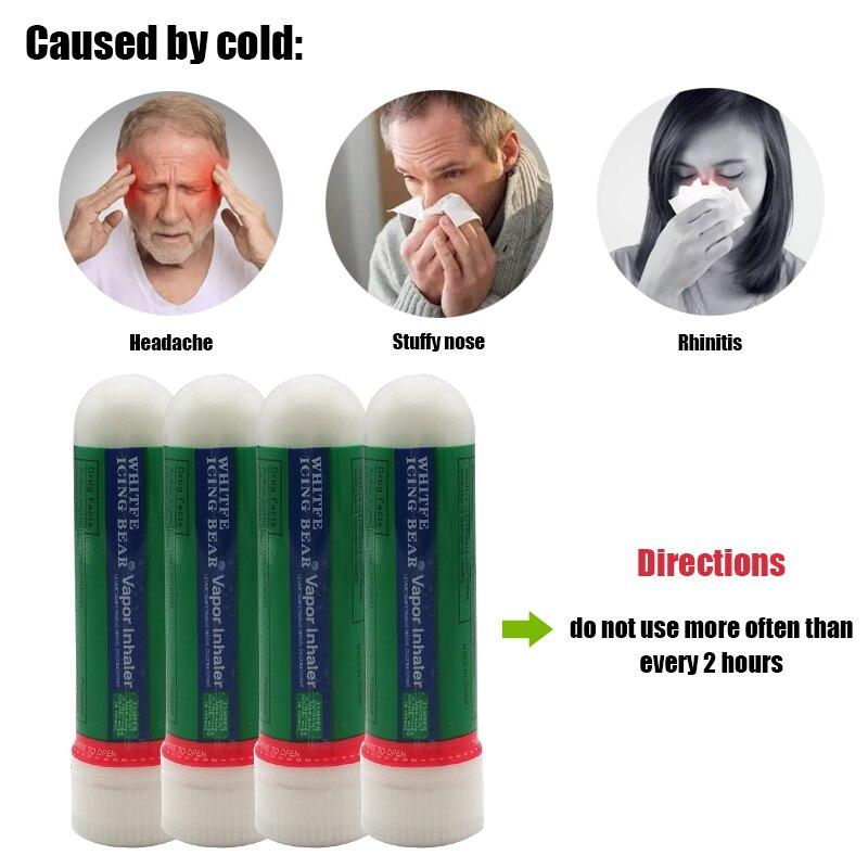 1/6 шт тайские контейнеры для носовых ингаляторов мята Poy Sian Mark 2 палочки масло бросок Breezy астма прохладная травяная мазь ринит спрей