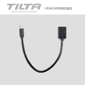 Image 2 - Tilta TA T17 A G Cage accessorie for SONY A7/A9 Single Rod Holder HDMI Clamp Attachment Run/Stop Cable HDMI to Micro HDMI CAGE