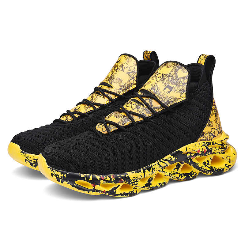 سميكة وحيد حذاء كرة السلة الرجال توسيد كرة السلة أحذية رياضية الرجال المضادة للانزلاق حذاء من الجلد الأردن أحذية أحذية رياضية المهنية