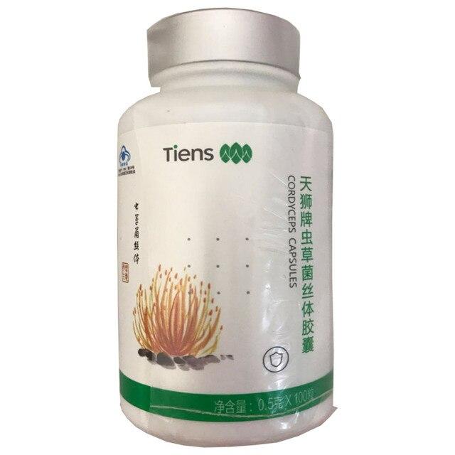 5 бутылок, tien Cordyceps, Улучшение иммунитета, защита от усталости