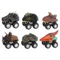 Динозавр тянущийся детский автомобиль игрушки для мальчиков T-Rex Triceratop мини литые инерционные крутые Автомобили Модель игрушечные милые ав...