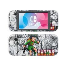Vinil ekran cilt Hunter X Hunter koruyucu çıkartmalar Nintendo anahtarı için Lite NS konsolu Nintendo anahtarı Lite Skins çıkartmalar
