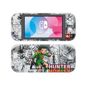 Image 1 - Vinyl Screen Skin Hunter X Hunter Protector naklejki na Nintendo Switch Lite konsola NS przełącznik do Nintendo Lite skórki naklejki