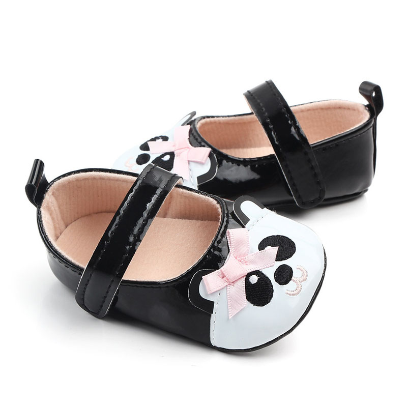 First Walkers Fringe Soft Soled Non-Slip Footwear PU Leather Crib Shoes