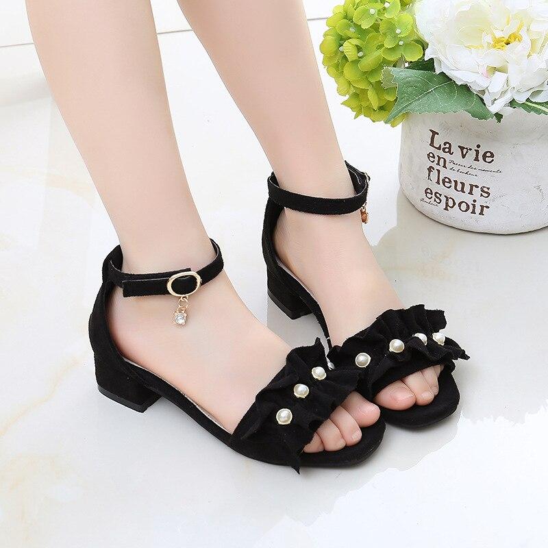 New Fashion Girls' Summer High Heels