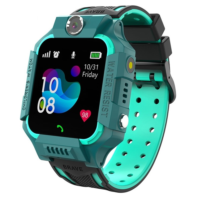 S19 Waterproof Smart Watch for Kids LBS Tracker SmartWatch SOS Call for Children Anti Lost Monitor Baby Wristwatch for Boy girls 2