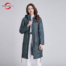 Padded Jacket Parka Women Coat MODERN Outerwear Spring Polyester Fashion Woman NEW SAGA