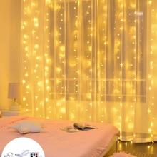 Curtain Fairy String Light LED Christmas Decorations for Home Garland Xmas Light Christmas