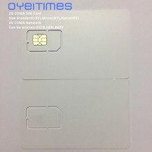 OYEITIMES пустая CDMA сим-карта s 2G сеть CDMA сим-карта программируемая CDMA сим-карта мини, микро и нано пустая sim-карта