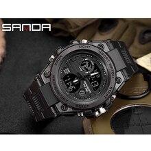 Men's military watch 30 meters waterproof watch LED quartz clock sports watch male relogios masculino sports watch men's 2019