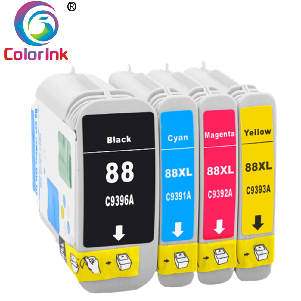 ColorInk 4 pcs 69ml with full ink compatible cartridge for HP 10 82 For HP Designjet 500 500PS 800 800PS 815mfp 820mfp 510 serie image