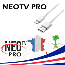 USB Cable for France Support Andorid Smart TV NEOTVPRO Oxy