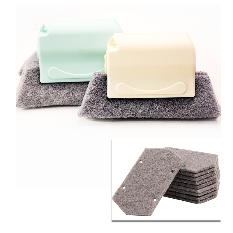 2021 new hot Window Groove Cleaning Cloth Window Cleaning Brush Windows Slot Cleaner Brush Clean Window Slot Clean Tool