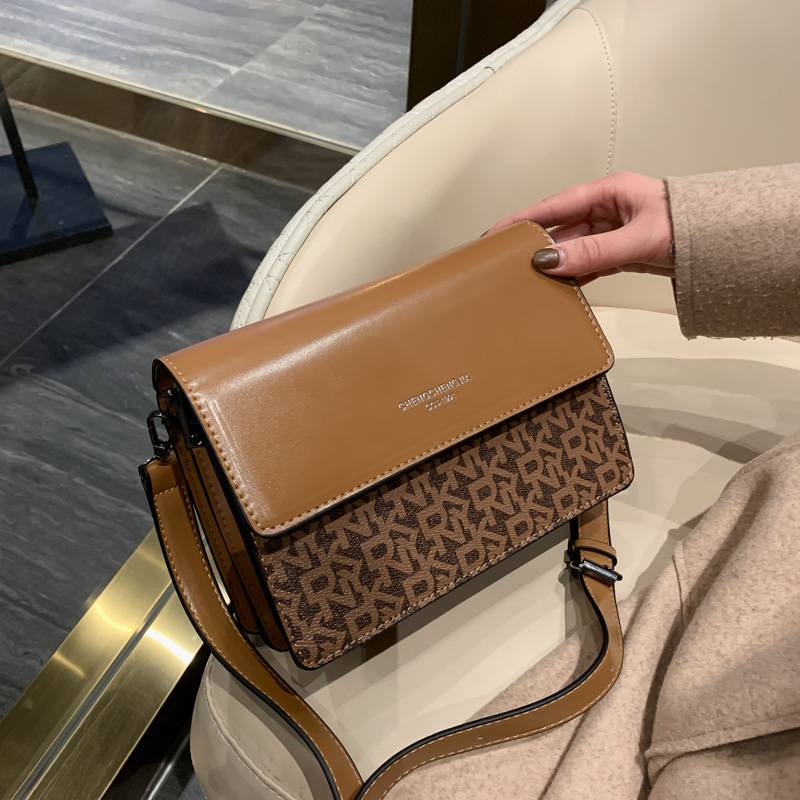 Women's Bag 2019 Autumn And Winter New Wave Korean Personality Messenger Bag Wild Fashion Shoulder Small Square Bag