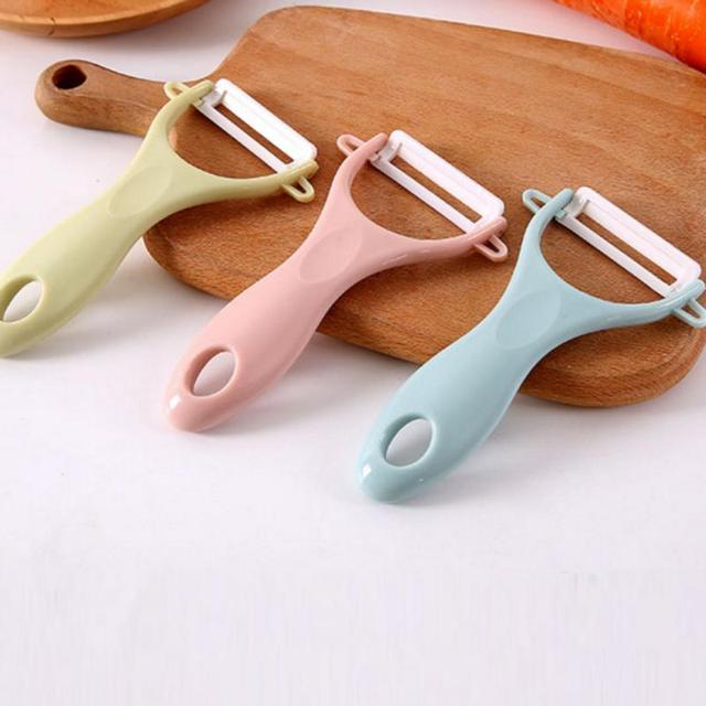 1pc Ceramic Vegetable Fruit Peeler Creative Cutlery Peeler Vegetable Cutter  Cooking Tools Kitchen Accessories Gadgets