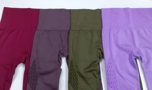Image 5 - חותלות דחיסת מכנסיים אצן נשים כושר סופר נמתח תרגיל מכנסיים מכנסיים חותלות חלקה בטן בקרה