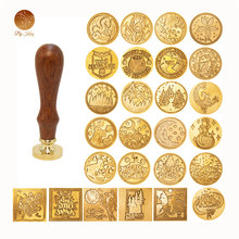 Retro sello de cera reemplazar cabeza de cobre sello de cera Hobby herramienta conjuntos sello Boda Invitaciones de aduanas de sello de cera personalizada sello cera