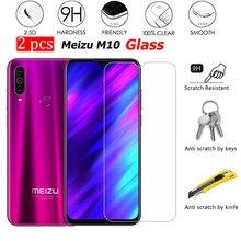 2PCS Glas Voor Meizu M10 Screen Protector Scratch proof Smartphone LCD Film Voor Meizu M 10 Gehard Glas Cover telefoon 6.5