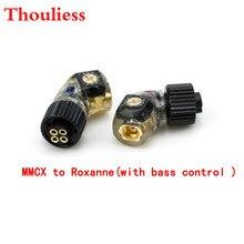 Thouliess wtyczka słuchawek do H24 Roxanne 24 Iriver AK R03 AKR02 UM PP6 do MMCX/0.78mm żeński konwerter Adapter z kontrolą basów
