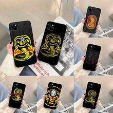 Snake Cobra Kai TV Phone Case For iphone 5s 6 7 8 11 12 plus xsmax xr pro mini se Cover Fundas Coque