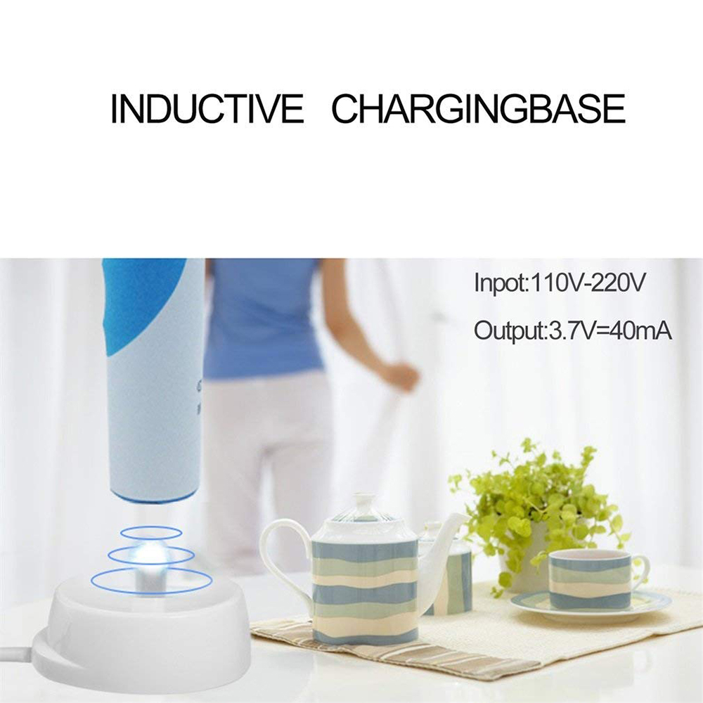 Useful Electronic Toothbrush Replacement Charging Cradle Base charger for Oral-B Electronic Toothbrush Teeth brush Oral B image