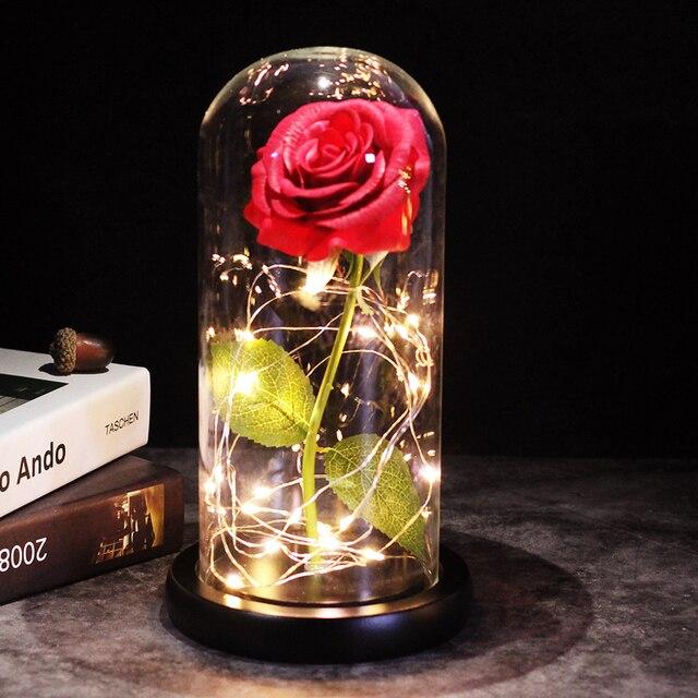 Enchanted Glass Rose 4