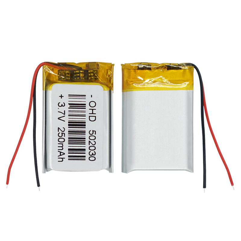 1/2/4 Pieces Portable 250mah Rechargeable <font><b>Li</b></font>-<font><b>Po</b></font> <font><b>Battery</b></font> <font><b>3.7v</b></font> 502030 GPS MP3 MP4 Bluetooth Speakers Headsets Pos PDA <font><b>Battery</b></font> image