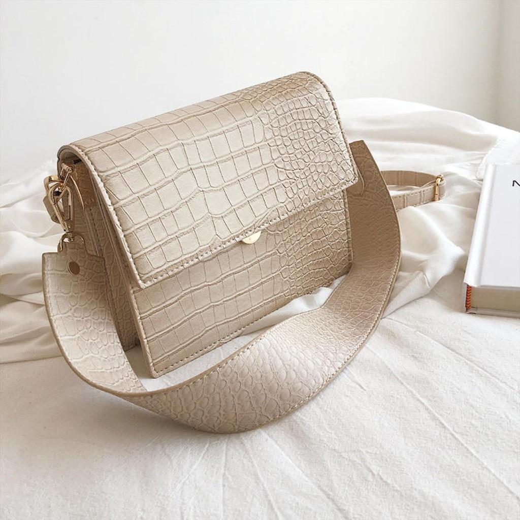 Fashion Messenger Bag Women' S Trend Large Capacity Leather Shoulder Bag Leather Bags Women Crossbody Bag Torebka Damska#20