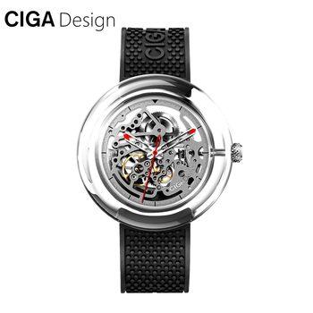 CIGA Design CIGA Watch T Series Mechanical Watch Transparent Hollow Fashion Watch Female Mechanical Watch Female/Man Watch mtg 2000 multifunctional mechanical watch table line machine watch tester