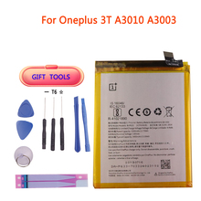 цены Original Replacement Battery 3400mAh For Oneplus 3T A3010 A3003 BLP633 Retail Package Cell Phone Battery