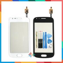 """באיכות גבוהה 4.0 """"עבור Samsung Galaxy מגמת DUOS 2 GT S7580 S7582 מגע מסך Digitizer חזית זכוכית עדשה חיישן פנל + כלי"""