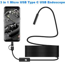 720P Mini USB Camera Industrial Endoscope Inspection Camera Endoscope Camera Waterproof 6 Led for Windows Macbook Android Phone new updated super mini 4 5mm usb endoscope module with 6 led for tube snake endoscope camera diy inspection camera xr ic2m45