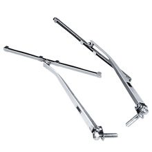 Left and Right Metal Windshield Wiper for 1/10 for TRX4 RC Car