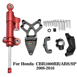 Steering Damper Mounting Bracket Kit For Honda CBR1000RR ABS SP 2008 2009 2010 2011 2012 2014 2015 2016 CBR 1000RR CBR1000 RR