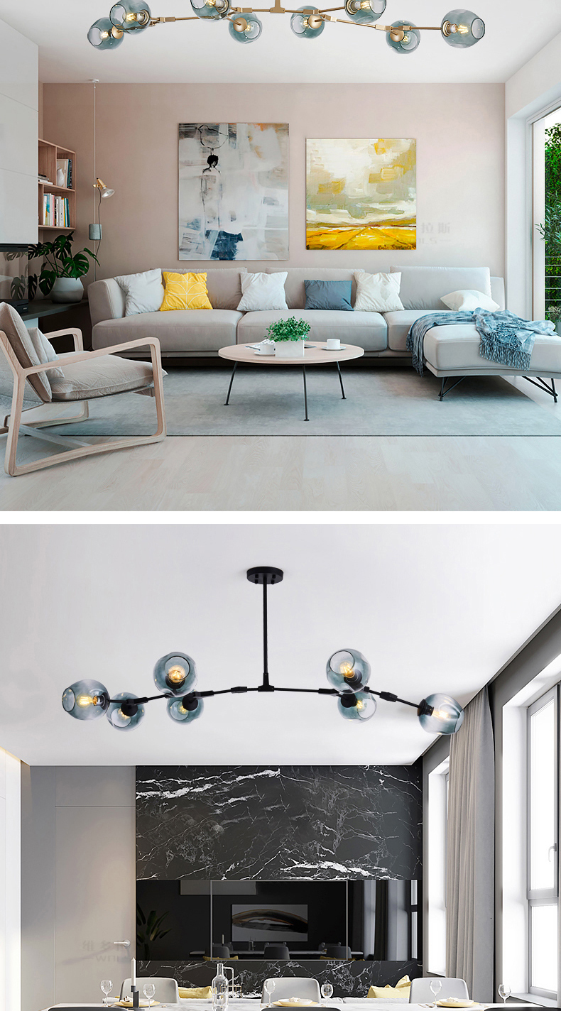 H14813cb07c6a4f50b673c00cb062ed925 MDWELL Nordic lamp Ceiling Lights for living room lights Retro Loft vintage Hanging Suspension luminaire led light ceiling Lamp