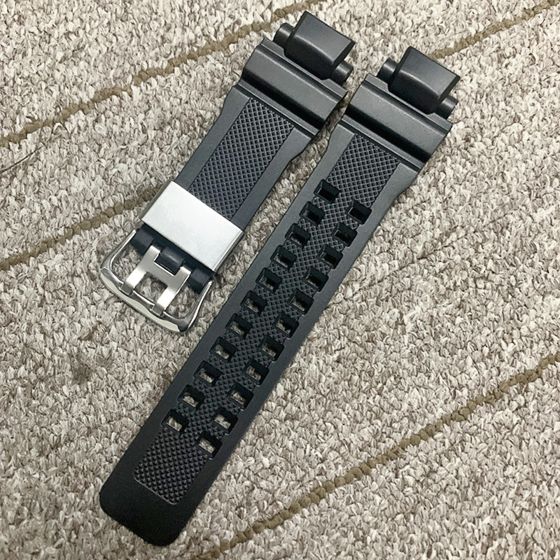 Black Replacement Band Strap Watch Accessories Silicone <font><b>Watchband</b></font> for Casio <font><b>G</b></font> <font><b>Shock</b></font> GA-1000/1100 GW-4000/A1100 <font><b>G</b></font>-1400 DIY image