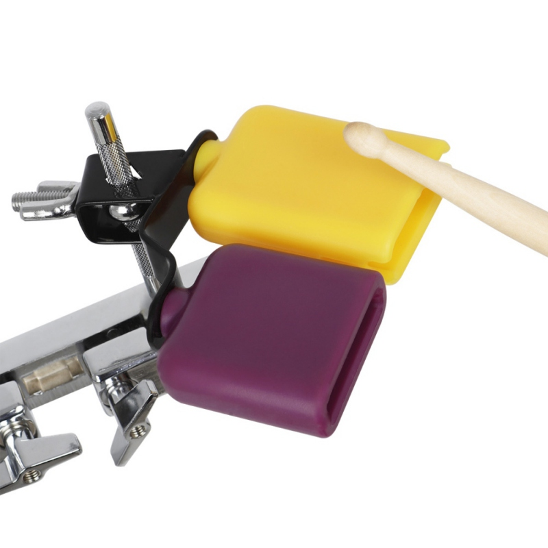 Orange & Purple Plastic Latin Percussion Drum Cow Bell Sports Games Cheers Wedding Cow Bell Drums Percussion Instruments 2020