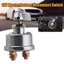 Interrupteur coupe-batterie principal pour voiture, 12V, isolateur, disconnecteur, interrupteur d'alimentation pour véhicule, camion, accessoires de voiture