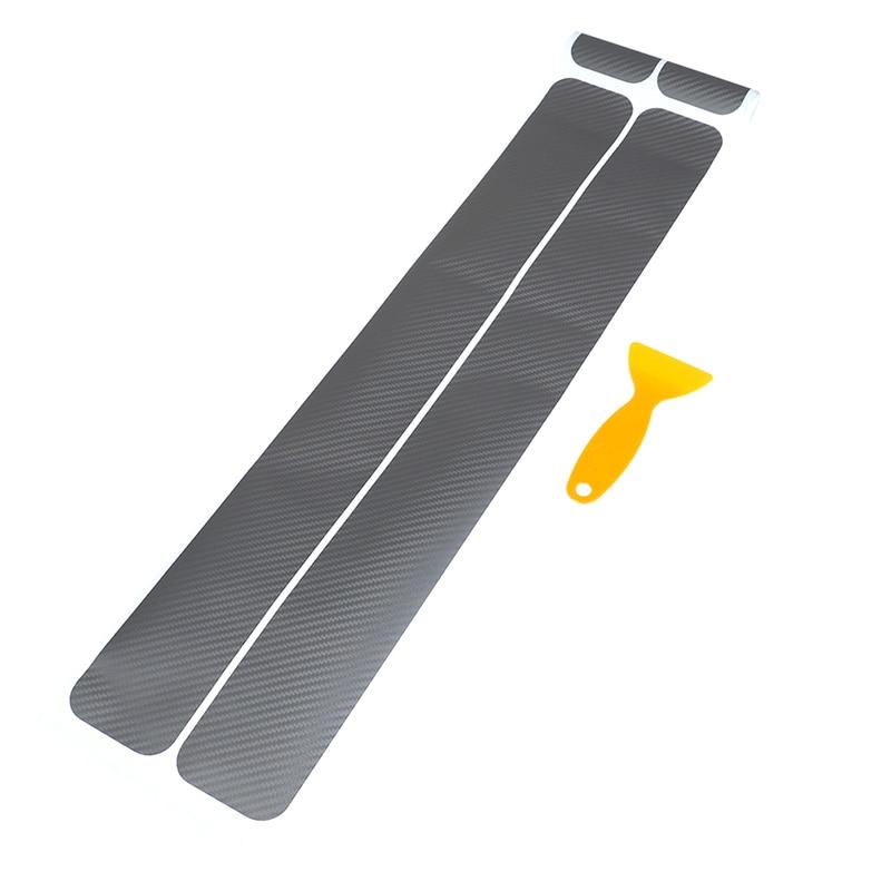 4 шт., защитные наклейки на порог автомобильной двери