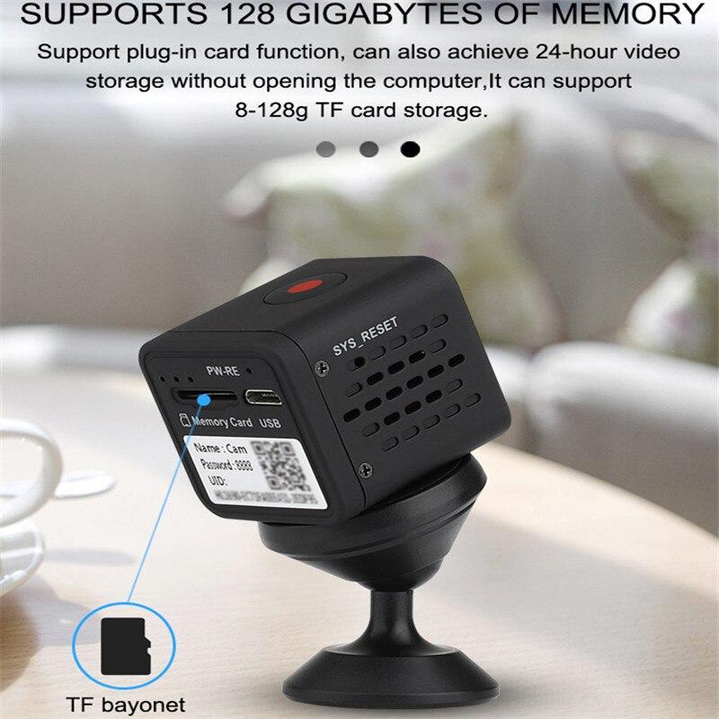 Микро 1080P HD камера 120 градусов широкий угол ночного видения Мини монитор спортивный детектор видео рекордер маленькая камера для Android IOS - 5