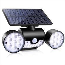 Solar Street Light  Waterproof  Solar Powered Lamp Led Solar Light Pir Motion Sensor Outdoor Lamparas Solares Exterior Potentes