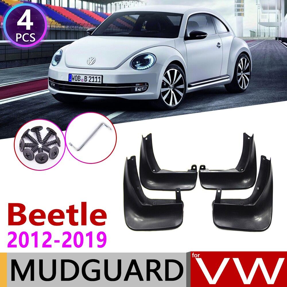 Car Mudflap For Volkswagen VW Beetle 2012~2019 Fender Mud Guard Splash Flaps Mudguard Accessories 2013 2014 2015 2016 2017 2018