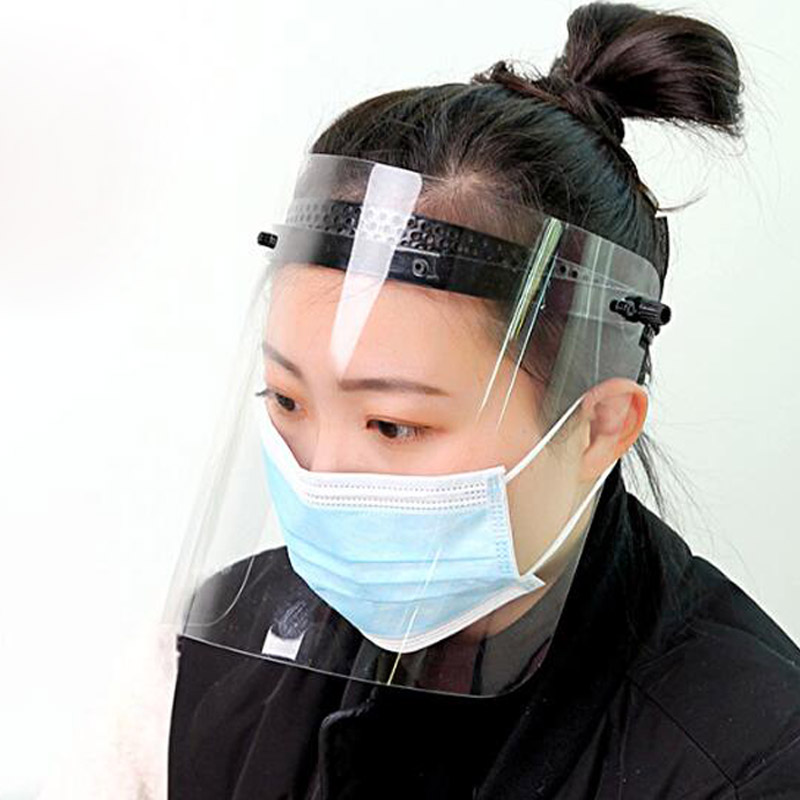 Anti-fog Protective Mask High-definition Transparent Face Shield Full Face Splash-proof Oil-proof Face Mask LMZ003